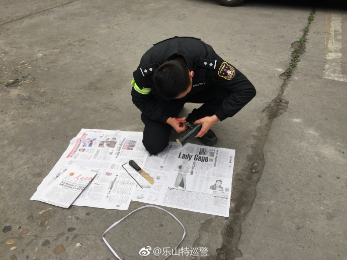 制作简易爆炸物_乐山便衣破获盗窃车内物品案 查获自制左轮手枪及爆炸