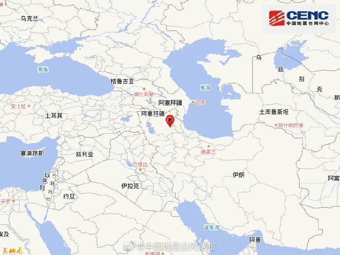 伊朗发生5.8级地震 已造成至少5