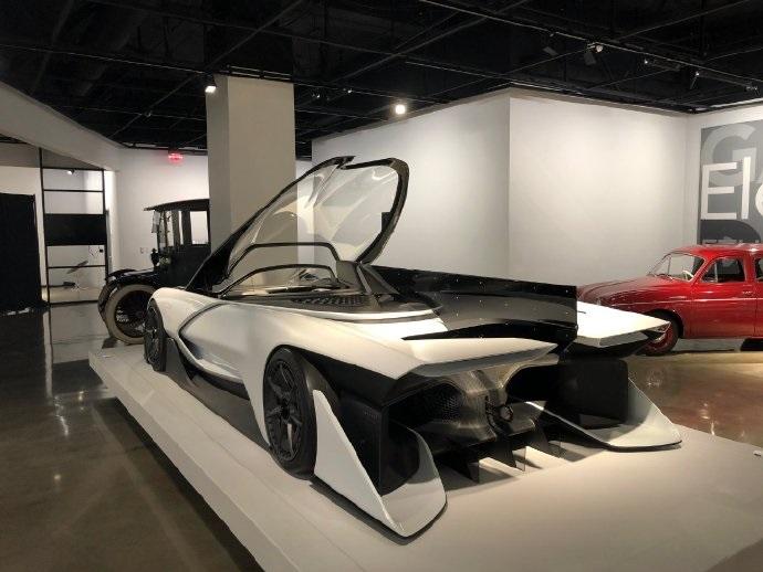 法拉第未来首款智能电动超跑FF Zero 1将在美展出