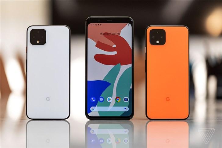 消息称因隔空操控功能,谷歌不会在印度销售Pixel 4