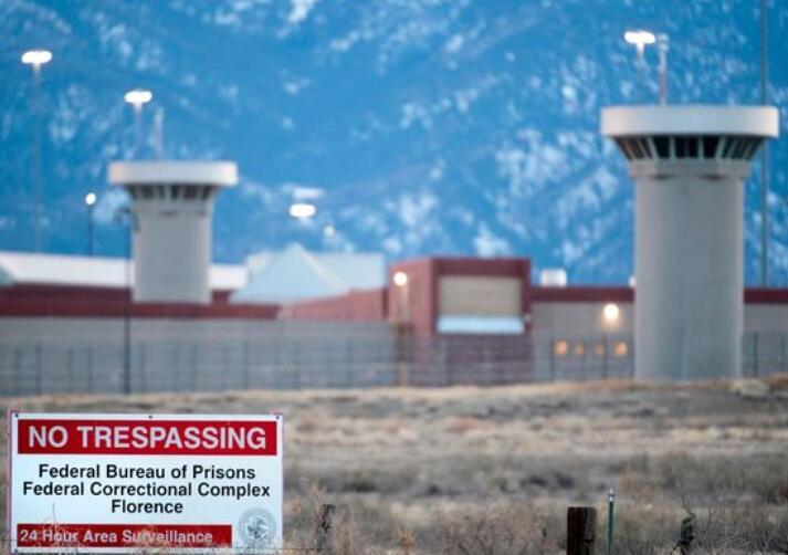 """有好国最紧密牢狱之称的""""ADX佛罗伦萨""""牢狱(图源:GETTY/AFP)"""