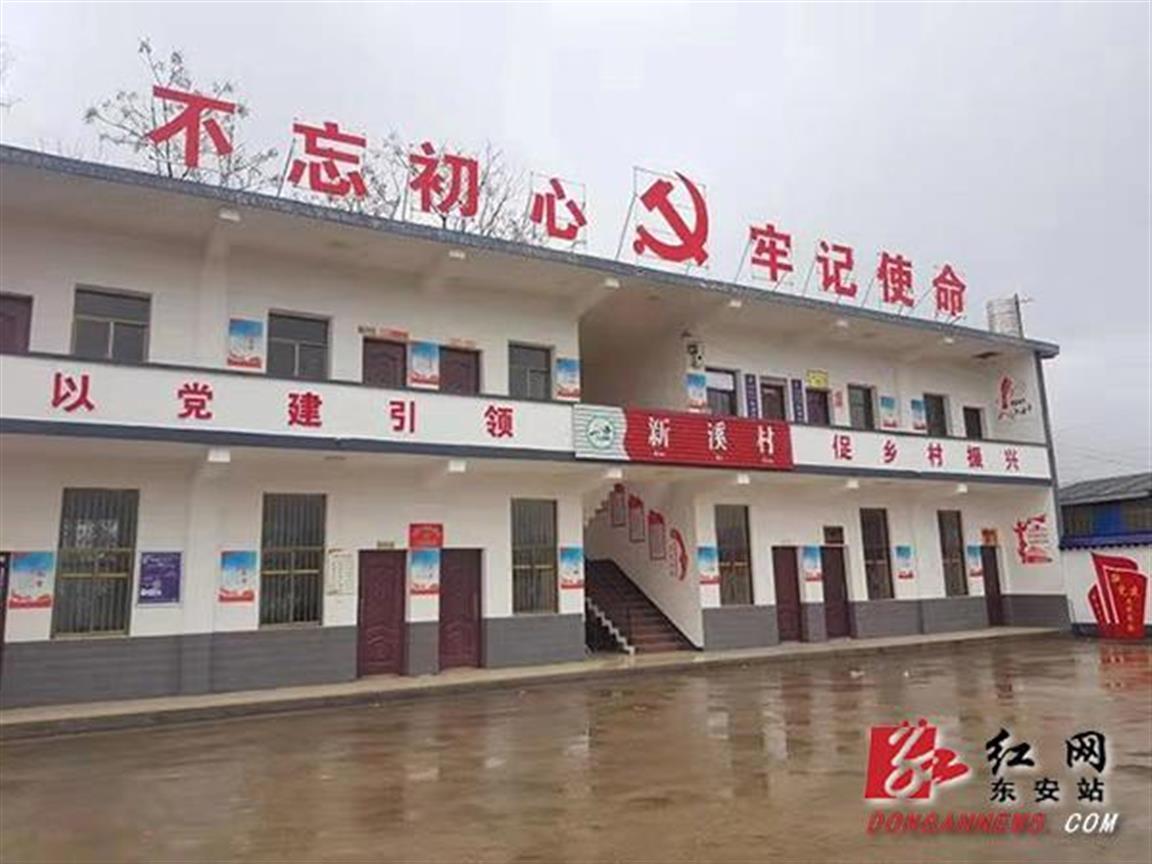 东安:农村基层党建活力四射