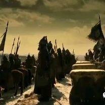 ▲成吉思汗攻城,大量巨弩和投石机猛烈攻击,战况惨烈