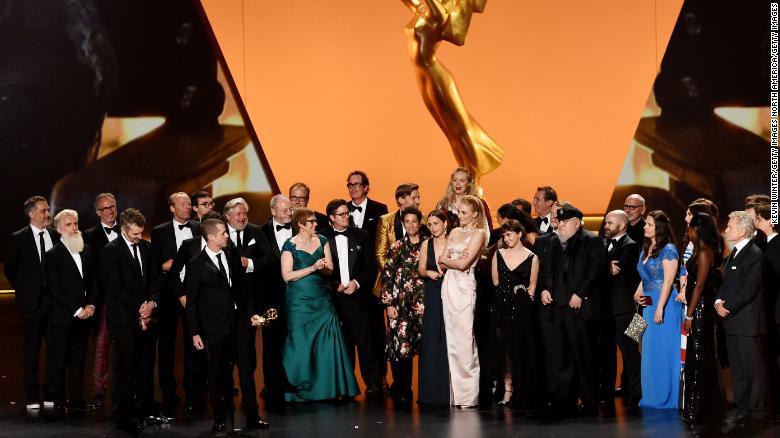 《权力的游戏》获得艾美奖最佳剧集