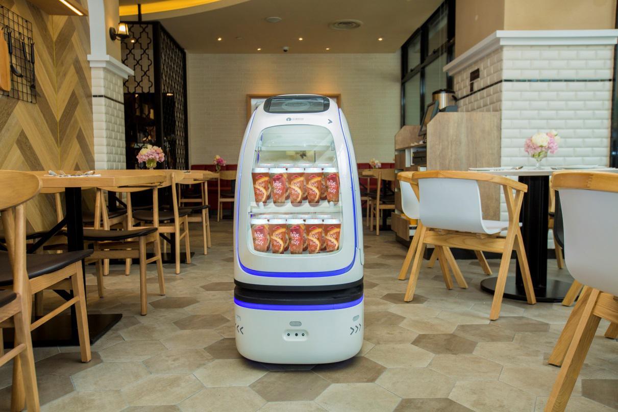 美食跨界黑科技 必胜客打造全新智慧餐厅图片