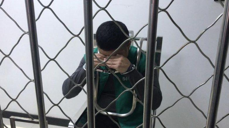 流亡4年的杜某某末被抓获。 沈阳网 图