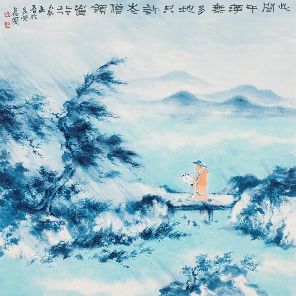 何洋作品展在广东南岸至尚美术馆开幕