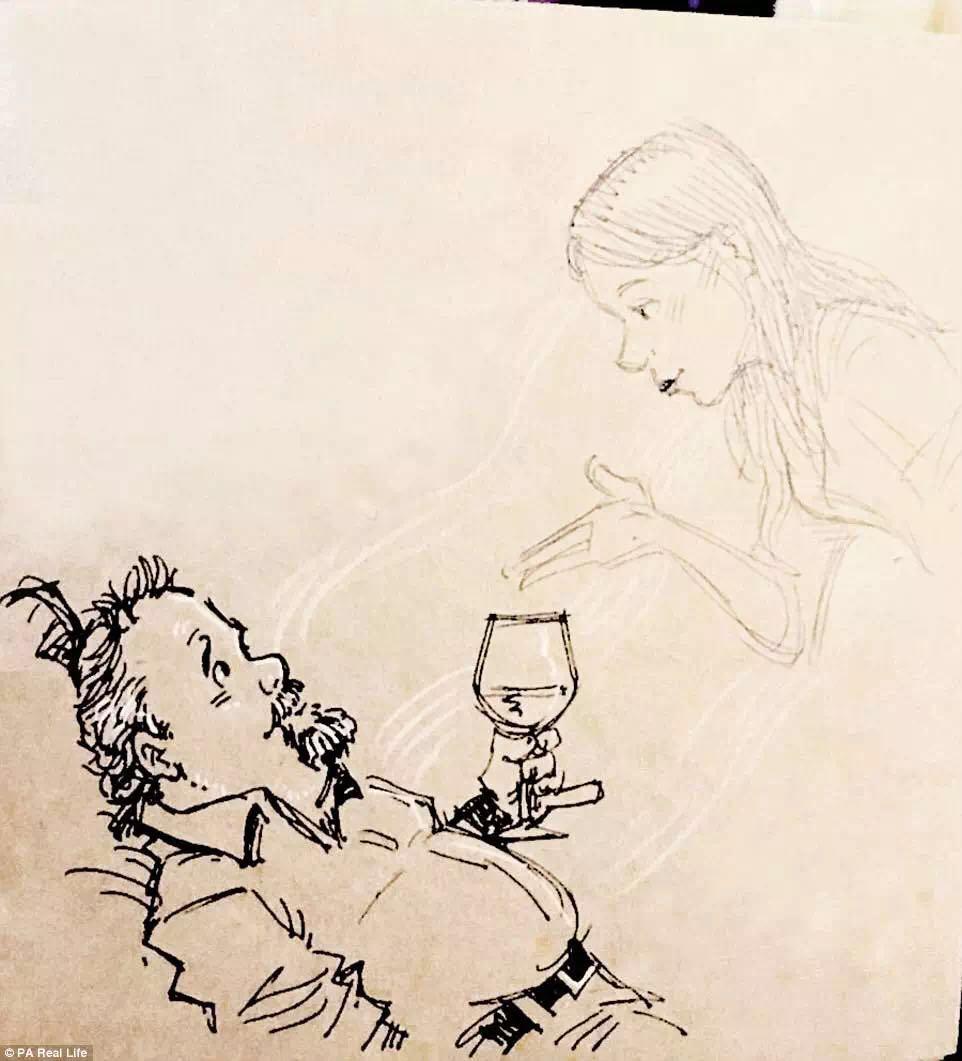 一个人吃饭睡觉带孩子,这本涂鸦日记承载了这位丈夫,父亲的悲伤与希望