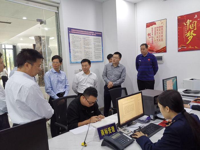 国家知识产权局副局长何志敏一行到南宁高新区考察调研知识产权工作