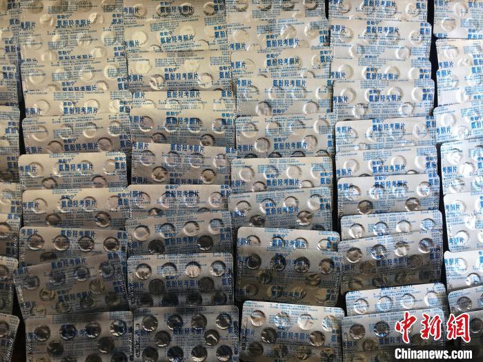 沈阳警方破获系列贩卖毒品案 缴获二类精神类药品1000余粒