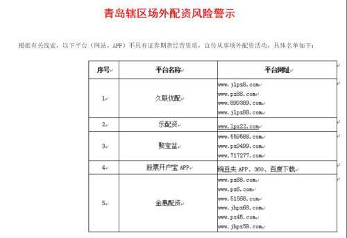 """10倍杠杆配资彻底""""凉了"""" 上海、深圳等多地同时出手公布""""黑名单"""""""
