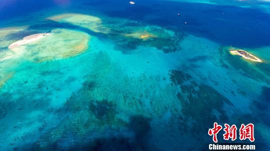 图为海南省所辖的南海岛屿(资料图) 骆云飞 摄