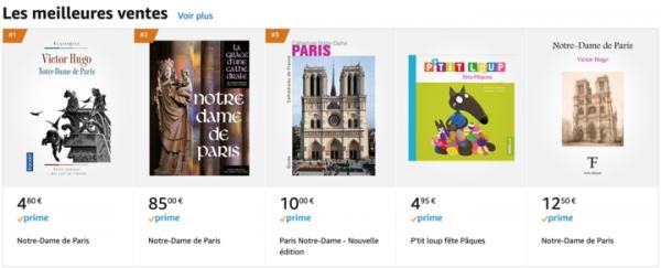 亞馬遜法國圖書排行榜(亞馬遜網站)