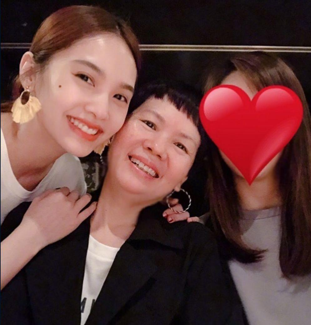 杨丞琳与妈妈