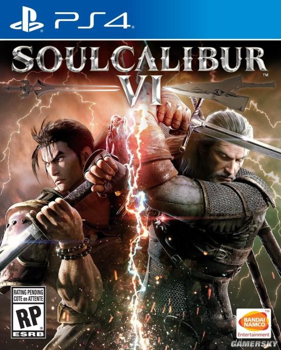 《灵魂能力6》游戏封面公布 杰洛特持剑火花带闪