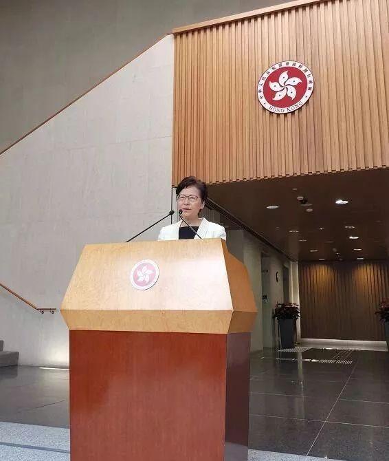 林郑被问是否引紧急状态 答仍以法律手段止暴制乱