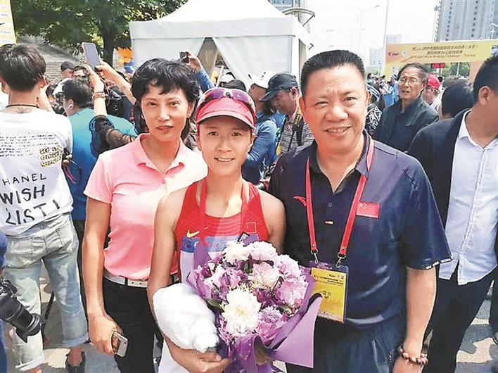 国际田联竞走挑战赛深圳刘虹夺第三