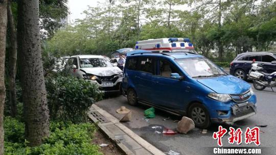 广西南宁发生一起严重车祸 已致2死8区域代理销售合同伤