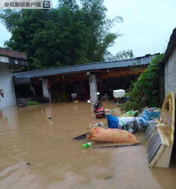 广西贺州发布暴雨红色预警 部分乡镇受灾严重出现山体滑坡
