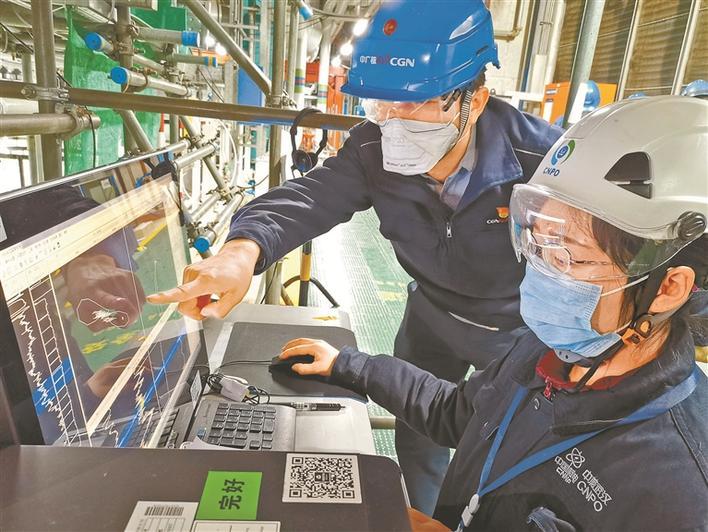 大亚湾核电基地战疫故事:和武汉来的伙伴一起完成机组大修