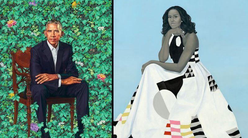 奥巴马画像