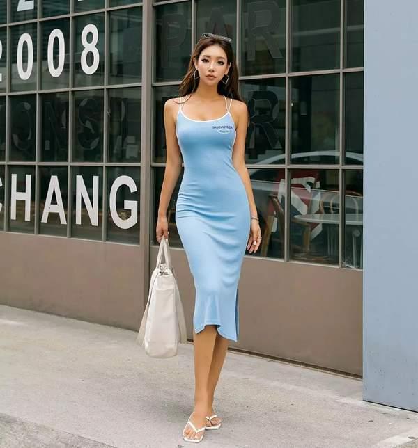 韩国美女模特朴多贤福利美照 夏日炎炎唯你一缕清风