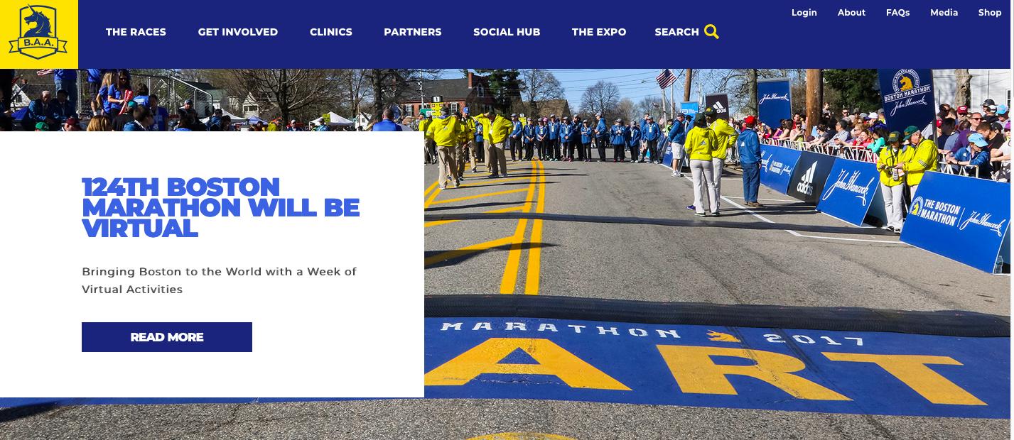 摩天代理:首次摩天代理波士顿马拉松被图片