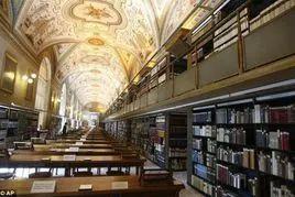 梵蒂冈图书馆/来源:网络
