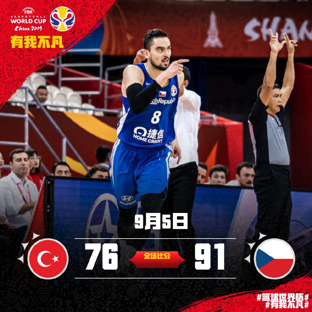 篮球世界杯今日综述:希腊队有惊无险晋级16强
