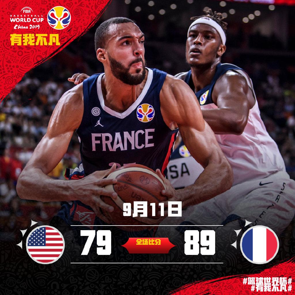 篮球世界杯4强出炉,7个直通奥运名额确定