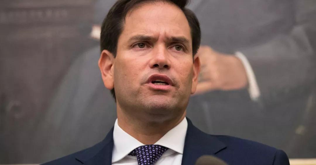 佛罗里达州共和党参议员鲁比奥(图源:CNBC)
