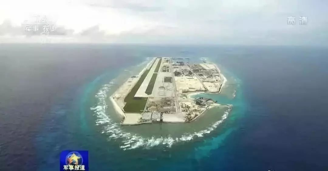 永暑礁长大了,110艘不沉的航空母舰震慑中国南海