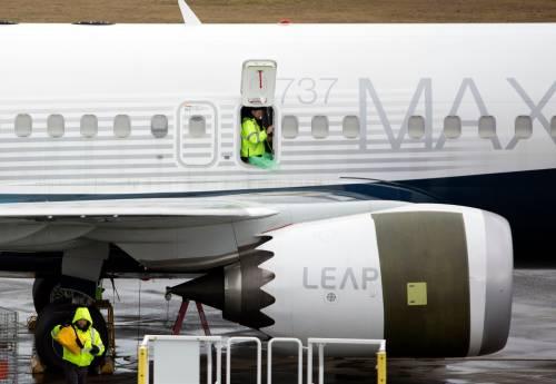 图为737 MAX飞机。法新社