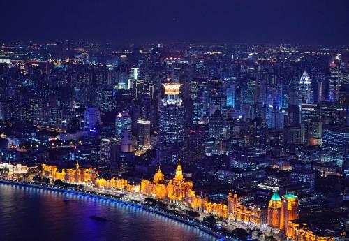 图为上海的中滩。新华社