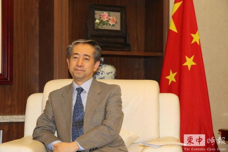 熊波大使 图自柬中时报