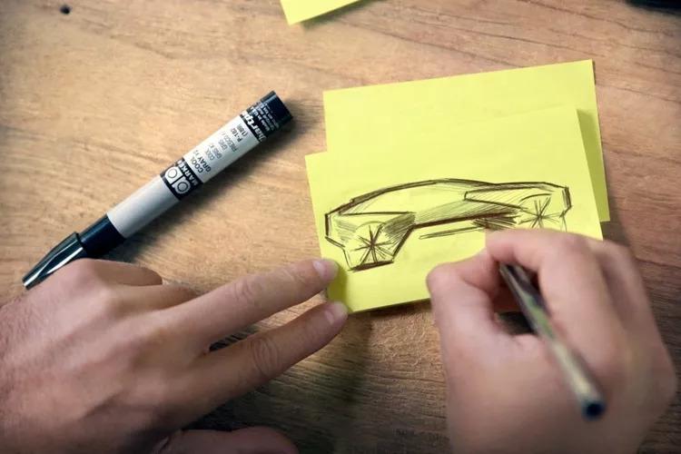 宝马公布电动车iNext设计草图,将于9月亮相!