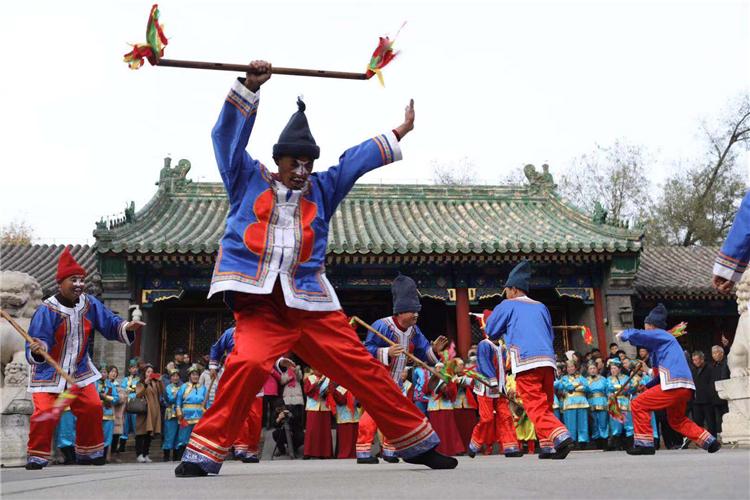 河北承德满族文雅遗产杰作铺示月在京揭幕