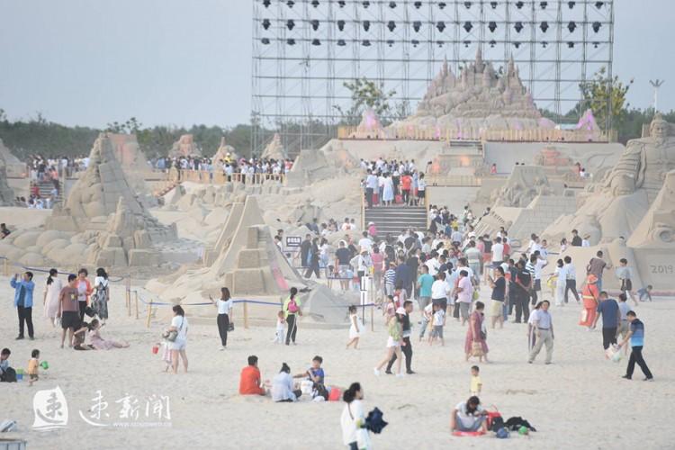 展期142天,骆马湖沙雕节将一直持续到春节假期