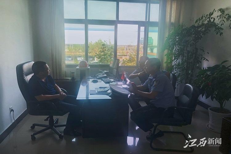 新余交警高新大队:企业走访话安全 协同共治保平安