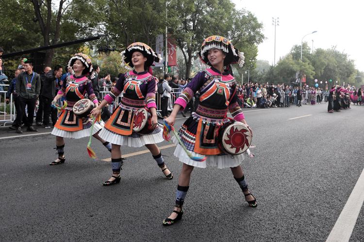 400余人巡游 2019年中关村舞蹈节开幕|组图