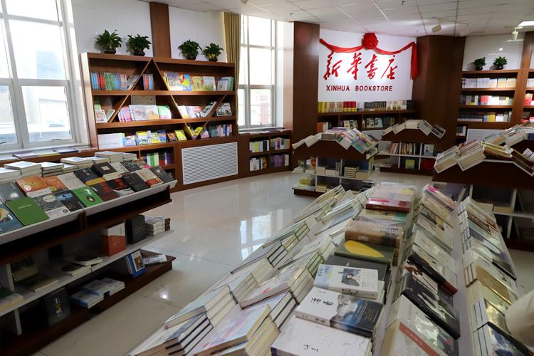 """打造书香校园 """"新华书店-银川职业学院店""""开业"""