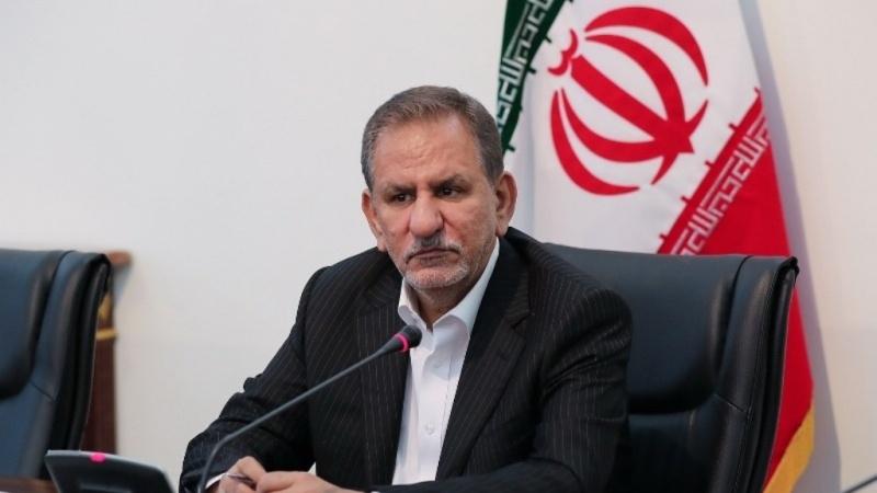 资料图:伊朗副总统艾沙格?贾汉基里。图自伊朗媒体