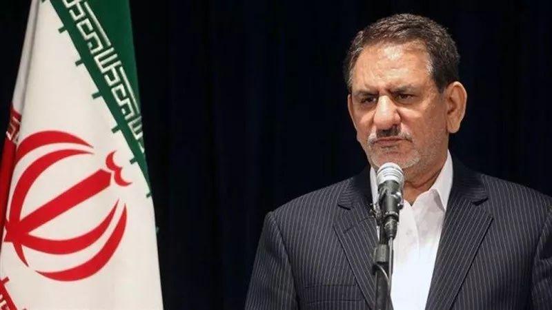 ▲伊朗第一副總統埃沙格·賈漢吉里