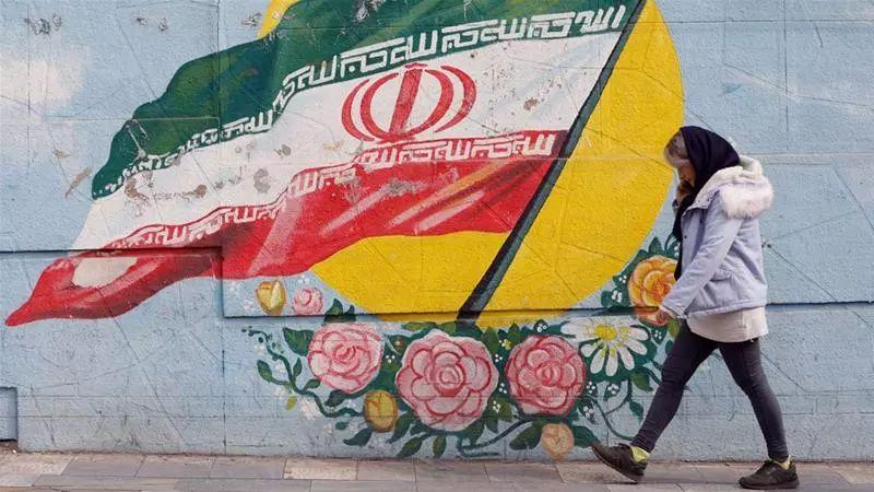 ▲伊朗街頭的塗鴉
