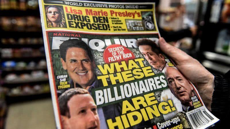 曝光贝索斯绯闻小报以1亿美元价格被卖掉