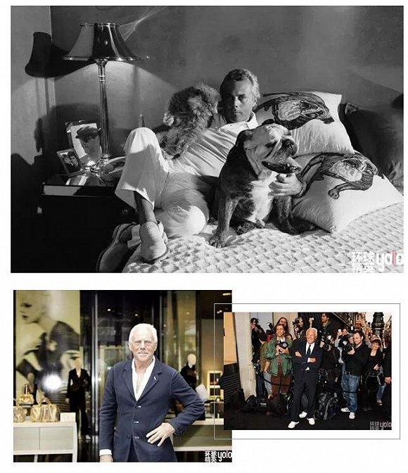 并创立了以自己名字命名的品牌,乔治·阿玛尼主理设计,赛尔焦