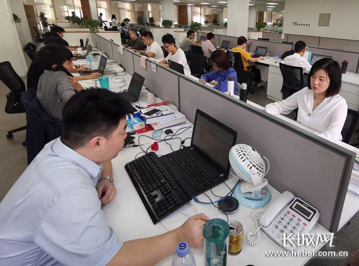 神玥公司充满朝气的软件研发设计人员。 神玥公司供图