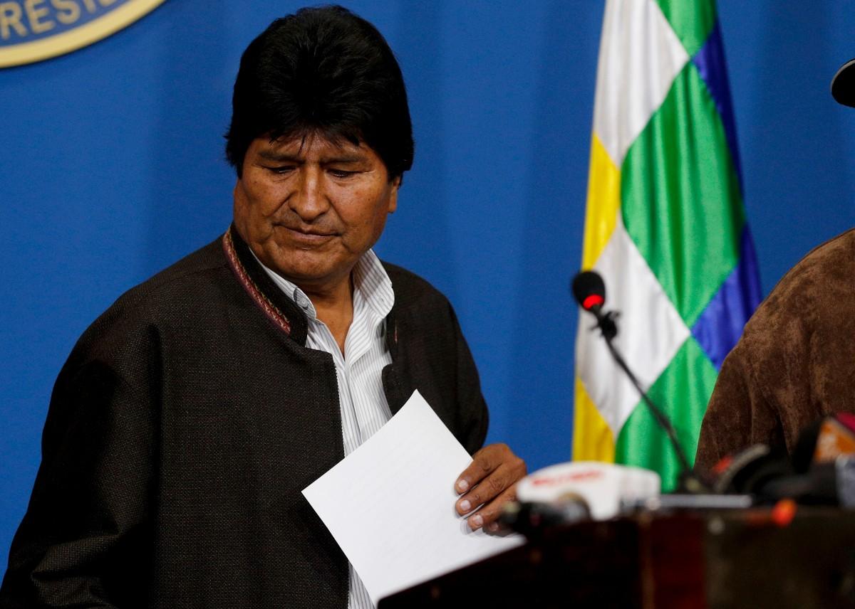 总统突然宣布辞职 玻利维亚局势何以急转直下?|玻利维亚|莫拉莱斯