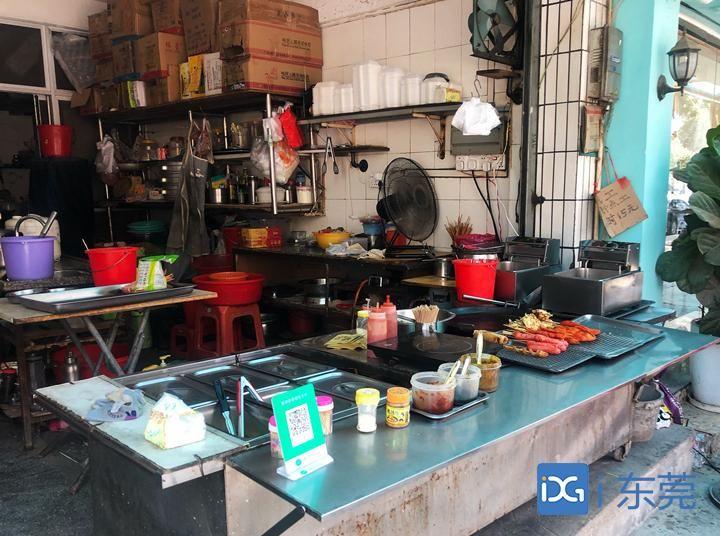 记者暗访寮步校园周边餐饮店,两家小食店经营不规范