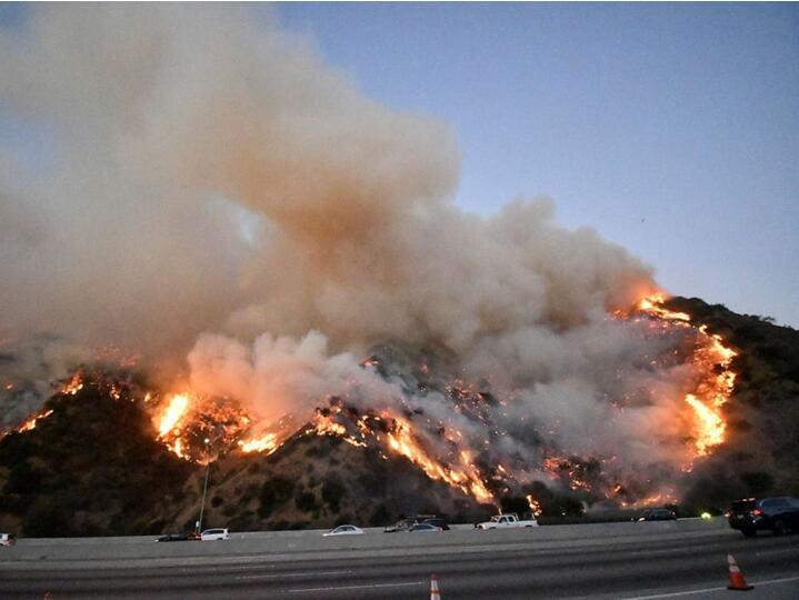 美国加州大火持续肆虐,NBA球星詹姆斯、施瓦辛格赶紧撤了…